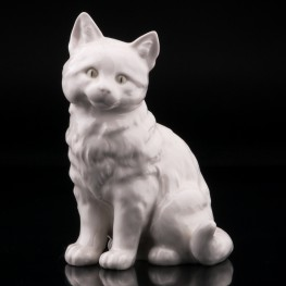 Кошка белая, Hutschenreuther, Германия
